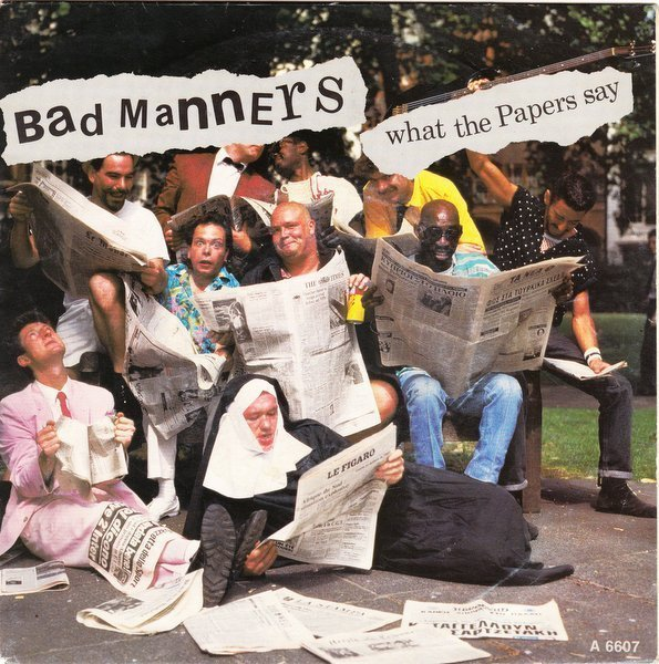 Bad Mannerd - What The Papers Say