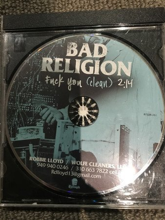 Bad Religion - Fuck You