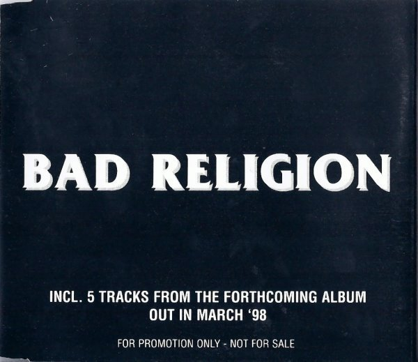 Bad Religion - Incl. 5 Tracks From The Forthcoming Album
