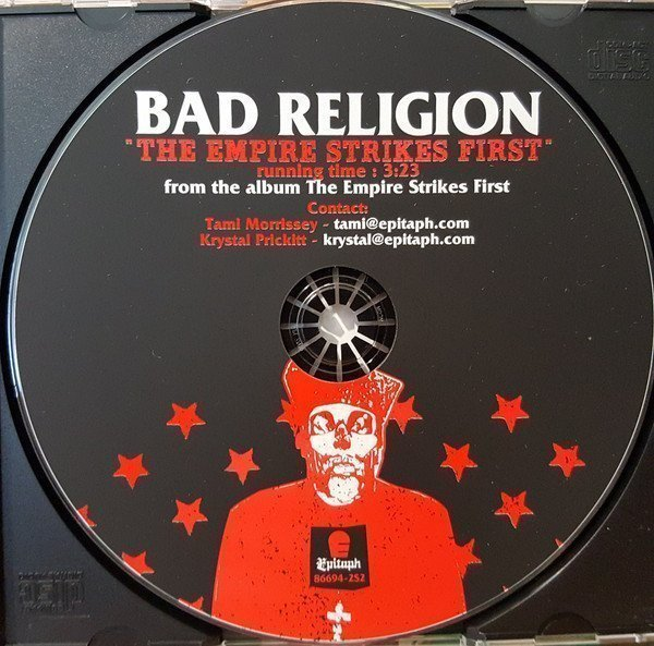 Bad Religion - The Empire Strikes First