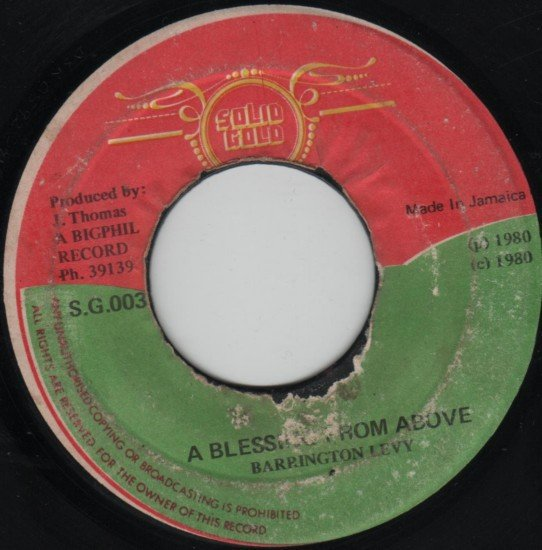 Barrington Levy - A Blessing From Above