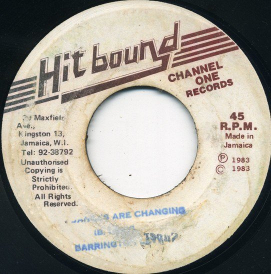Barrington Levy - Dances Are Changing