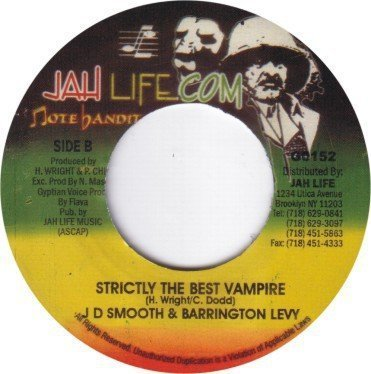 Barrington Levy - Drifter Mix / Strictly The Best Vampire