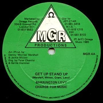 Barrington Levy - Get Up Stand Up / Do The Dance