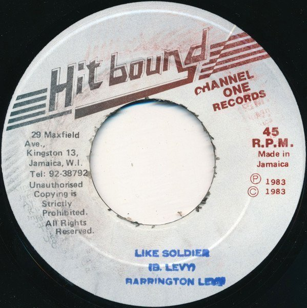 Barrington Levy - Like Soldier