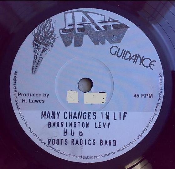 Barrington Levy - Many Changes In Life / Many Changes In Life (Dub)