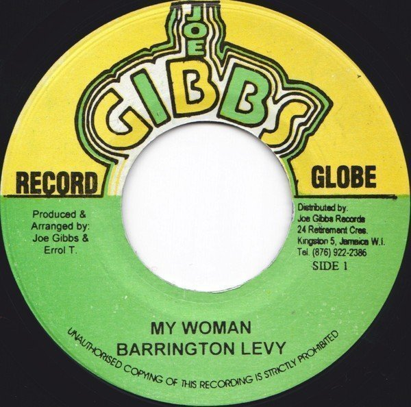 Barrington Levy - My Woman / More & More