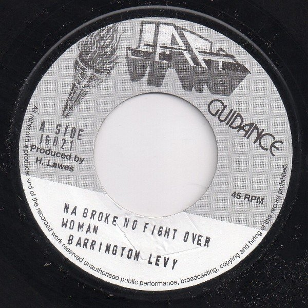 Barrington Levy - Na Broke No Fight Over Woman
