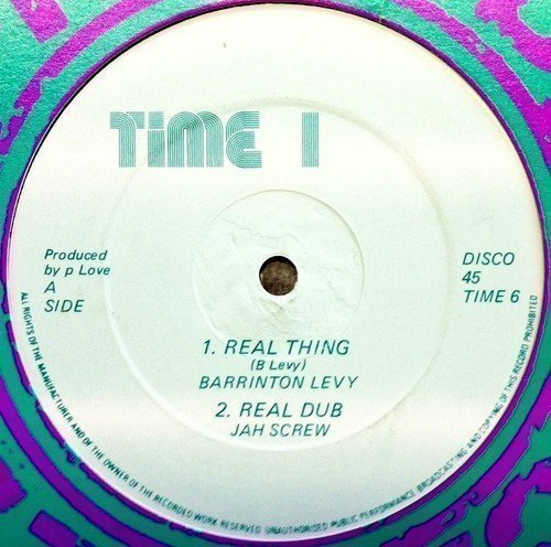 Barrington Levy - Real Thing / Real Dub