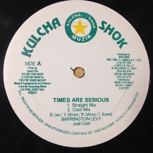 Barrington Levy - Times Are Serious