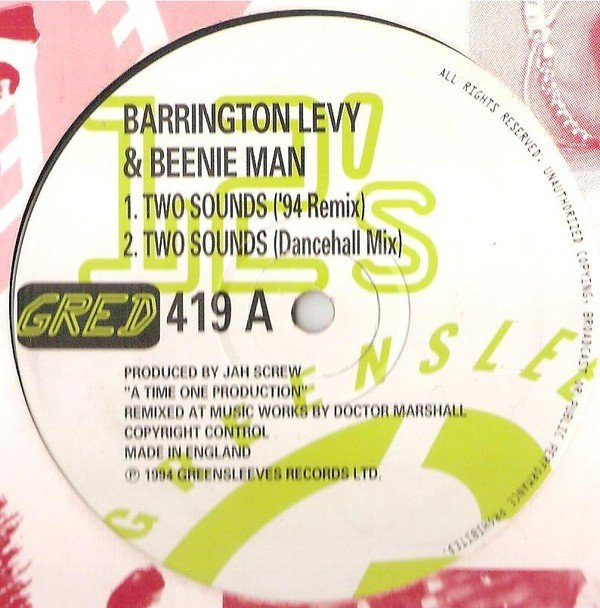 Barrington Levy - Two Sounds