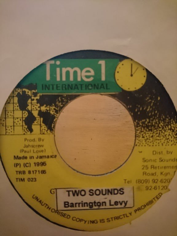 Barrington Levy - Two Sounds / Smooth Skin