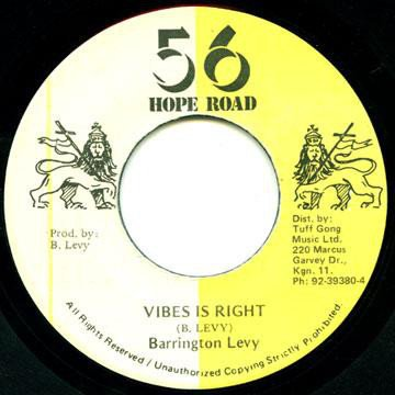 Barrington Levy - Vibes Is Right