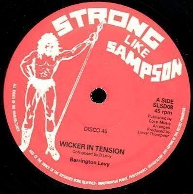Barrington Levy - Wicker In Tension / Promised Land