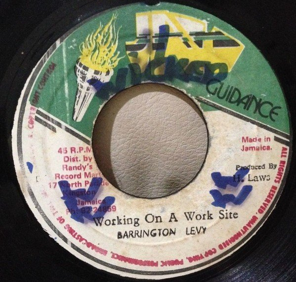 Barrington Levy - Working On A Work Site