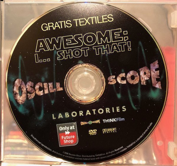 Beastie Boys - Awesome I... Shot That GRATIS TEXTILES