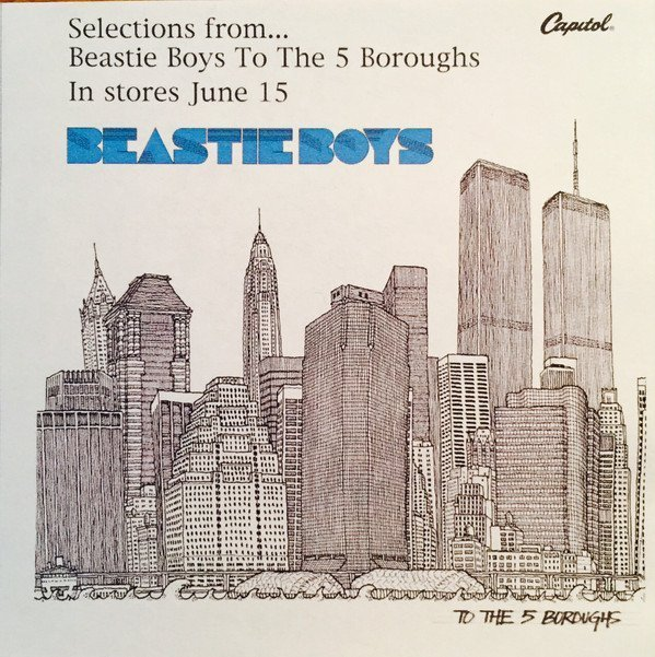 Beastie Boys - BB Retail Listening Post Cd