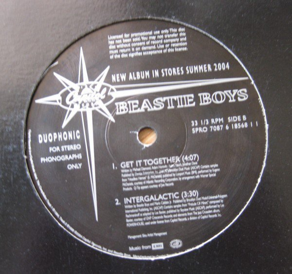 Beastie Boys - Get It Together / Intergalactic