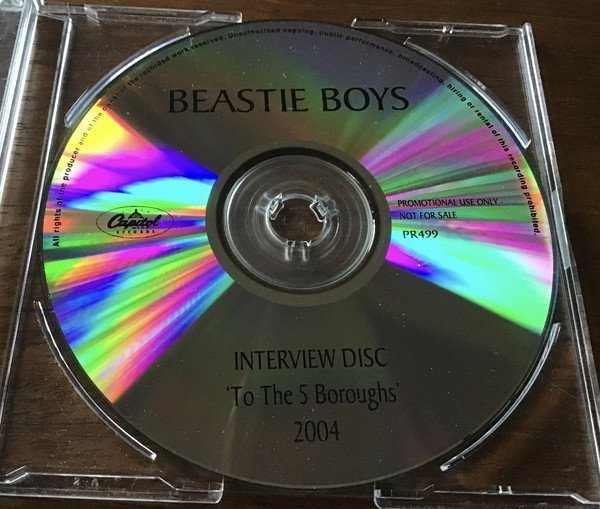Beastie Boys - Interview Disc - To The 5 Boroughs 2004
