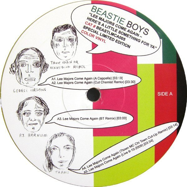 Beastie Boys - Lee Majors Come Again - Here
