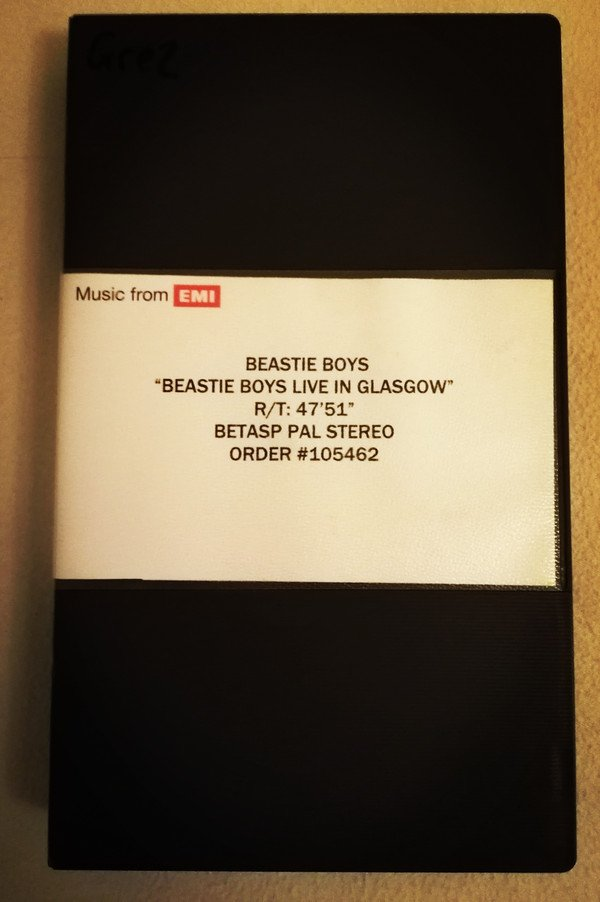 Beastie Boys - Live In Glasgow