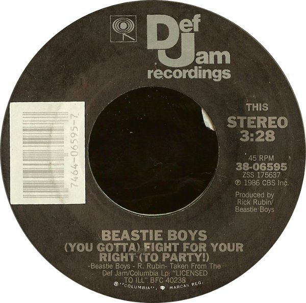 Beastie Boys - (You Gotta) Fight For Your Right (To Party!)