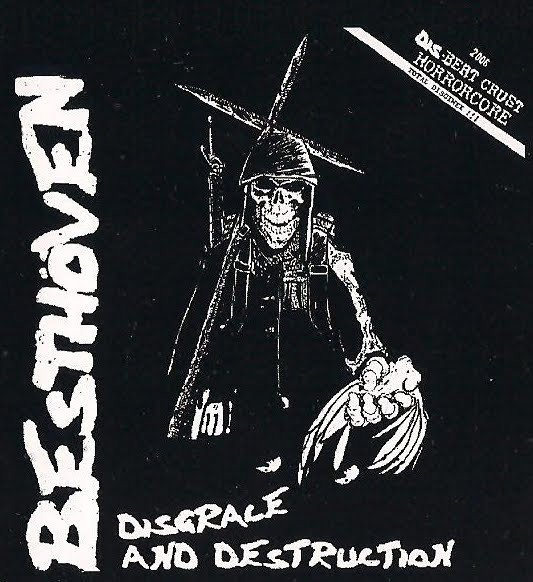 Besthoven  Dis Means War - Disgrace And Destruction / Welcome The Hail