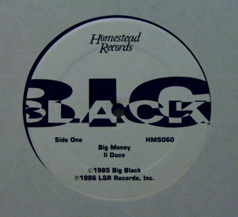 Big Black - Big Money