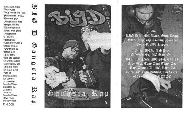 Big D And The Kids Table - Gangsta Rap
