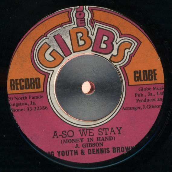Big Youth - A-So We Stay (Money In Hand) / Scar Face