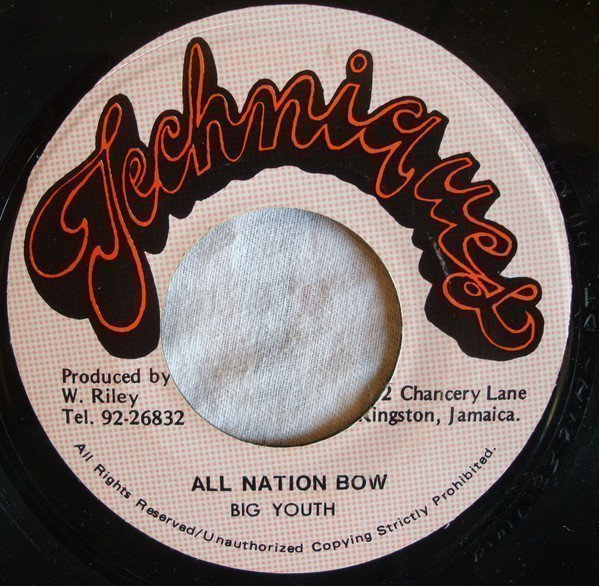 Big Youth - All Nation Bow / Jah Made Dem All