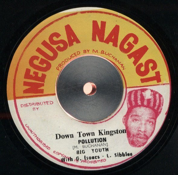Big Youth - Down Town Kingston Pollution / Hot Stock