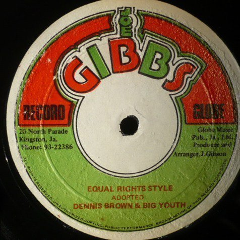 Big Youth - Equal Rights Style / Justice & Rights