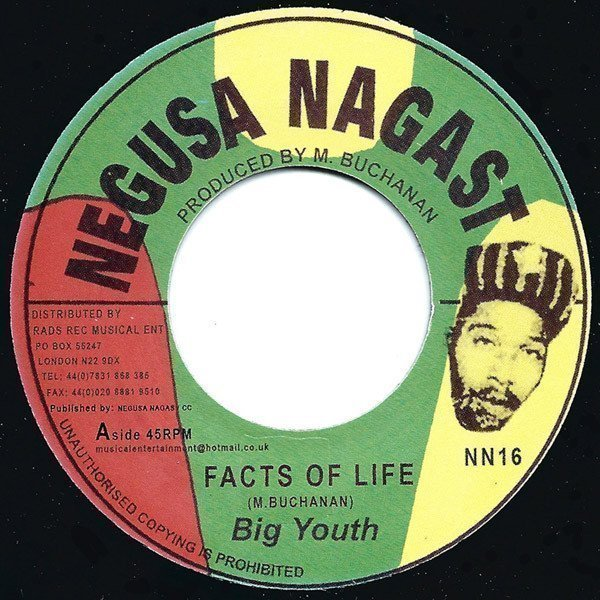 Big Youth - Facts Of Life / Medicine Doctor