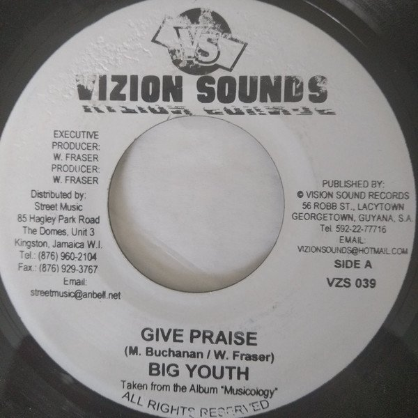 Big Youth - Give Praise