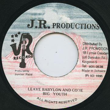 Big Youth - Leave Babylon And Come