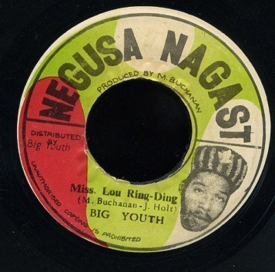 Big Youth - Miss. Lou Ring-Ding
