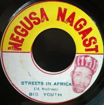 Big Youth - Streets In Africa