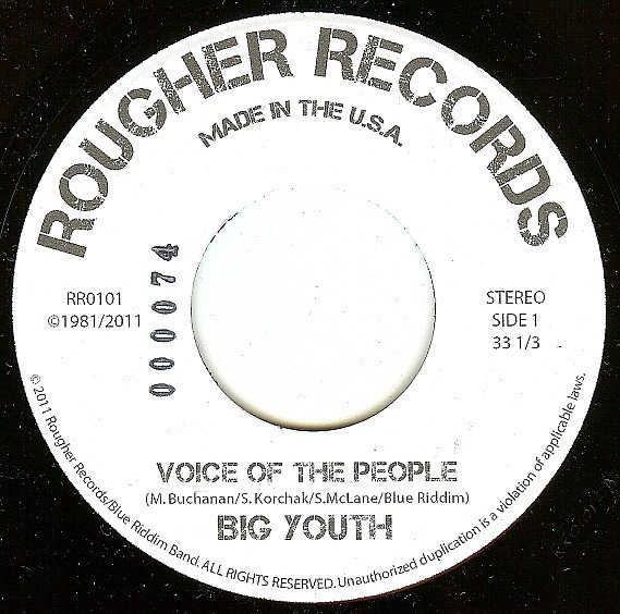 Big Youth - Voice Of The People / Nancy Reagan