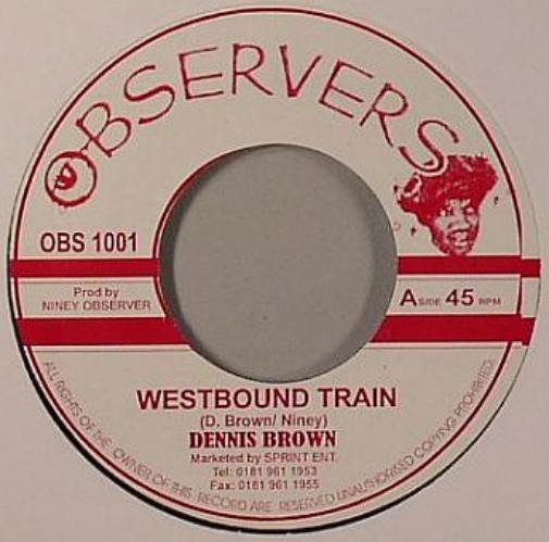Big Youth - Westbound Train / Ride On