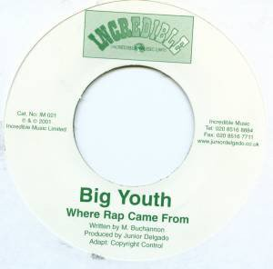 Big Youth - Where Rap Came From