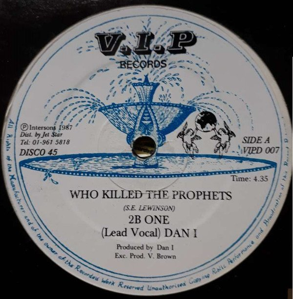 Big Youth - Who Killed The Prophets / Monkey Chop