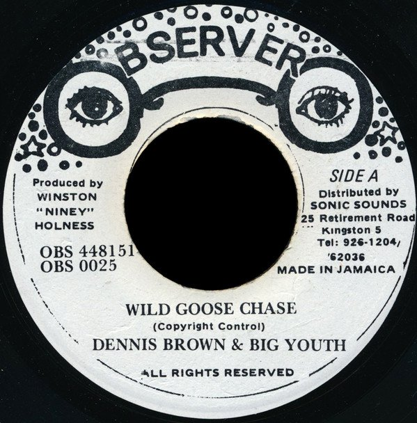 Big Youth - Wild Goose Chase