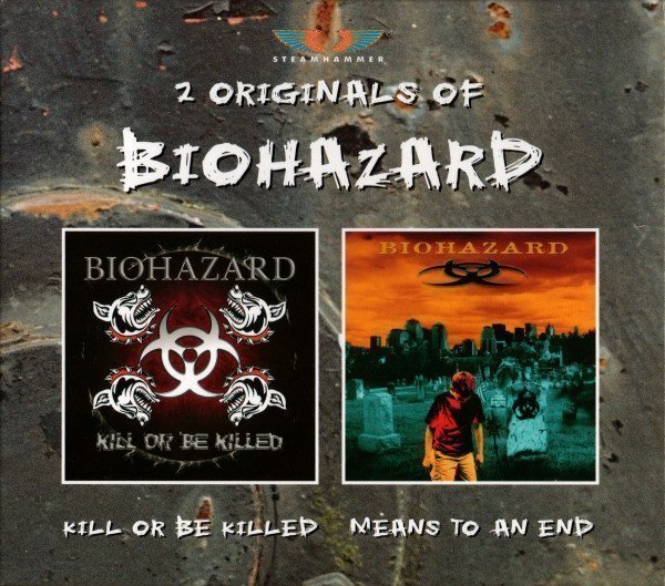 Biohazard - 2 Originals Of Biohazard (Kill Or Be Killed • Means To An End)