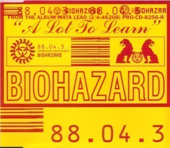 Biohazard - A Lot To Learn