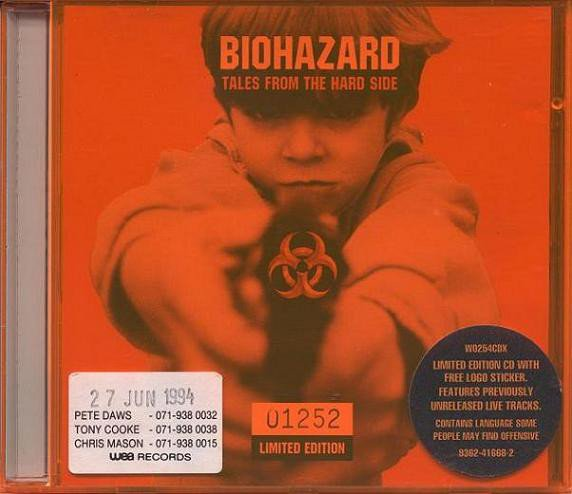 Biohazard - Tales From The Hard Side