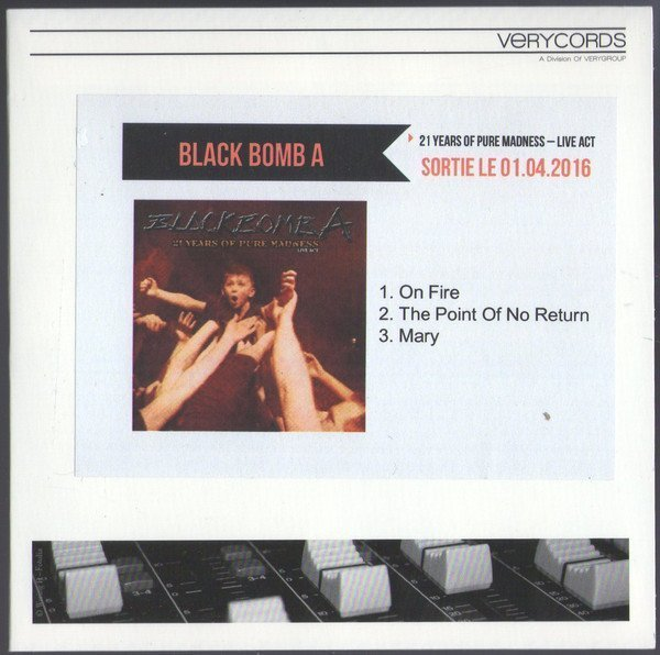 Black Bomb A - 21 Years Of Pure Madness - Live Act