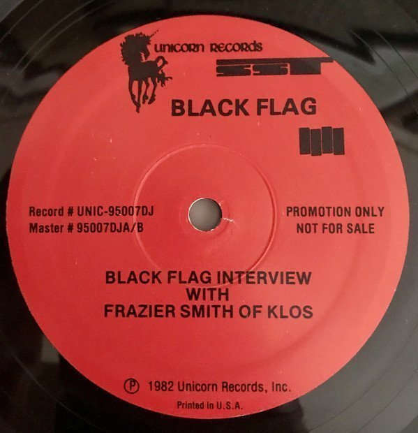 Black Flag - Black Flag Interview With Frazier Smith Of KLOS