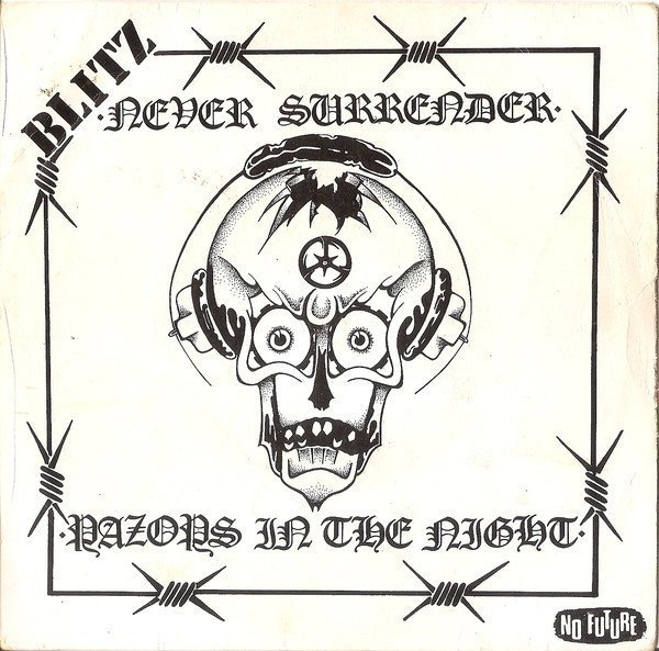 Blitz - Never Surrender / Razors In The Night