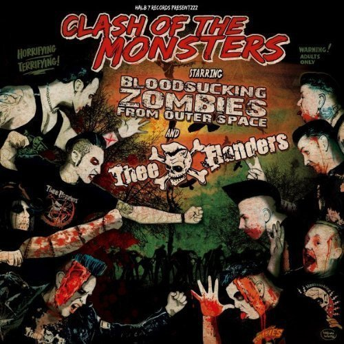 Bloodsucking Zombies From Outer Space - Clash Of The Monsters